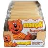 KN057 mampfi ขนมกระดาษหมี แผ่นมินิ รสคาราเมล 1 ห่อ มี 8 แผ่น (ราคาสำหรับ 1 ห่อ)