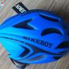 หมวกกันน๊อค จักรยาน BikeBoy สีน้ำเงิน พร้อมกระเป๋า BikeBoy