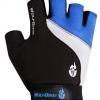 ถุงมือปั่นจักรยาน เจล WolfBike สีน้ำเงิน