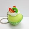 C889 สกุชี่ คัพเค้ก สีเขียว นุ่มมากๆ (SUPER SOFT) ขนาด 4.5 cm