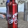 ขวดน้ำจักรยาน สแตนเลส อย่างดี สีแดง