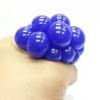 PB010 ลูกบีบ Magic Ball เด้งได้บีบสนุกมือ 4 cm สีน้ำเงิน