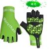 ถุงมือ จักรยาน เต็มข้อมือ Morethan สีเขียว