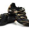 รองเท้าปั่นจักรยาน เสือหมอบ สีทอง