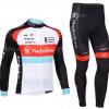 ชุดปั่นจักรยาน แขนยาว RadioShack เสื้อปั่นจักรยาน และ กางเกงปั่นจักรยาน