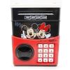 KA028 กระปุกออมสิน ตู้เซฟ ดูดเงินอัตโนมัติ ลาย Mickey Mouse