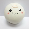 C921 สกุชชี่ บันฟูจิ จัมโบ้ สีขาว (Super soft) ขนาด 10 cm มีกลิ่นขนม