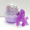 KC041 Pony Egg พวงกุญแจ โพนี่ สีม่วงใส พร้อมสติกเกอร์