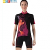 ชุดปั่นจักรยานผู้หญิง cheji 010 เสื้อปั่นจักรยาน พร้อมกางเกงปั่นจักรยาน