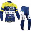 ชุดปั่นจักรยาน แขนยาว Fantini เสื้อปั่นจักรยาน และ กางเกงปั่นจักรยาน