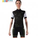 ชุดปั่นจักรยานผู้หญิง cheji 011 เสื้อปั่นจักรยาน พร้อมกางเกงปั่นจักรยาน