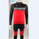 ชุดปั่นจักรยาน แขนยาว Specialized เสื้อปั่นจักรยาน และ กางเกงปั่นจักรยาน