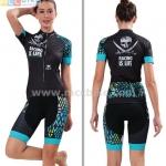 ชุดปั่นจักรยานผู้หญิง เสื้อปั่นจักรยาน พร้อมกางเกงปั่นจักรยาน Cheji 2017-06
