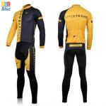 ชุดปั่นจักรยาน แขนยาว LiveStrong เสื้อปั่นจักรยาน และ กางเกงปั่นจักรยาน
