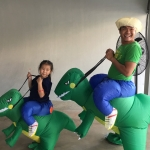 NZ002 ชุดไดโนเสาร์เป่าลม (ผู้ใหญ่)