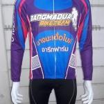 การสั่งตัดชุดปั่นจักรยาน ชุดจักรยานออกแบบเอง แบบตัวอย่างสำหรับ การออกแบบชุดจักรยาน - ทีม บางมะเดื่อไบค์