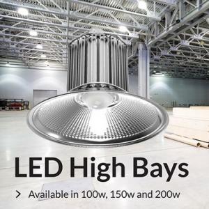 โคมไฟไฮเบย์แอลอีดี Industrial Light