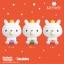 I143 สกุชชี่ i-bloom Snow Green 2016 (SUPER SOFT) ขนาด 12 cm ลิขสิทธิ์แท้ thumbnail 3