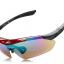 แว่นตาปั่นจักรยาน Robesbon มีคลิปสายตา เปลี่ยนเลนส์ได้หลายสี เลนส์ 5 ชุด R002 thumbnail 4