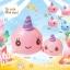 I165 สกุชชี่ millie mini สีชมพู (super soft) ขนาด8cmลิขสิทธิ์แท้ ญี่ปุ่น thumbnail 3