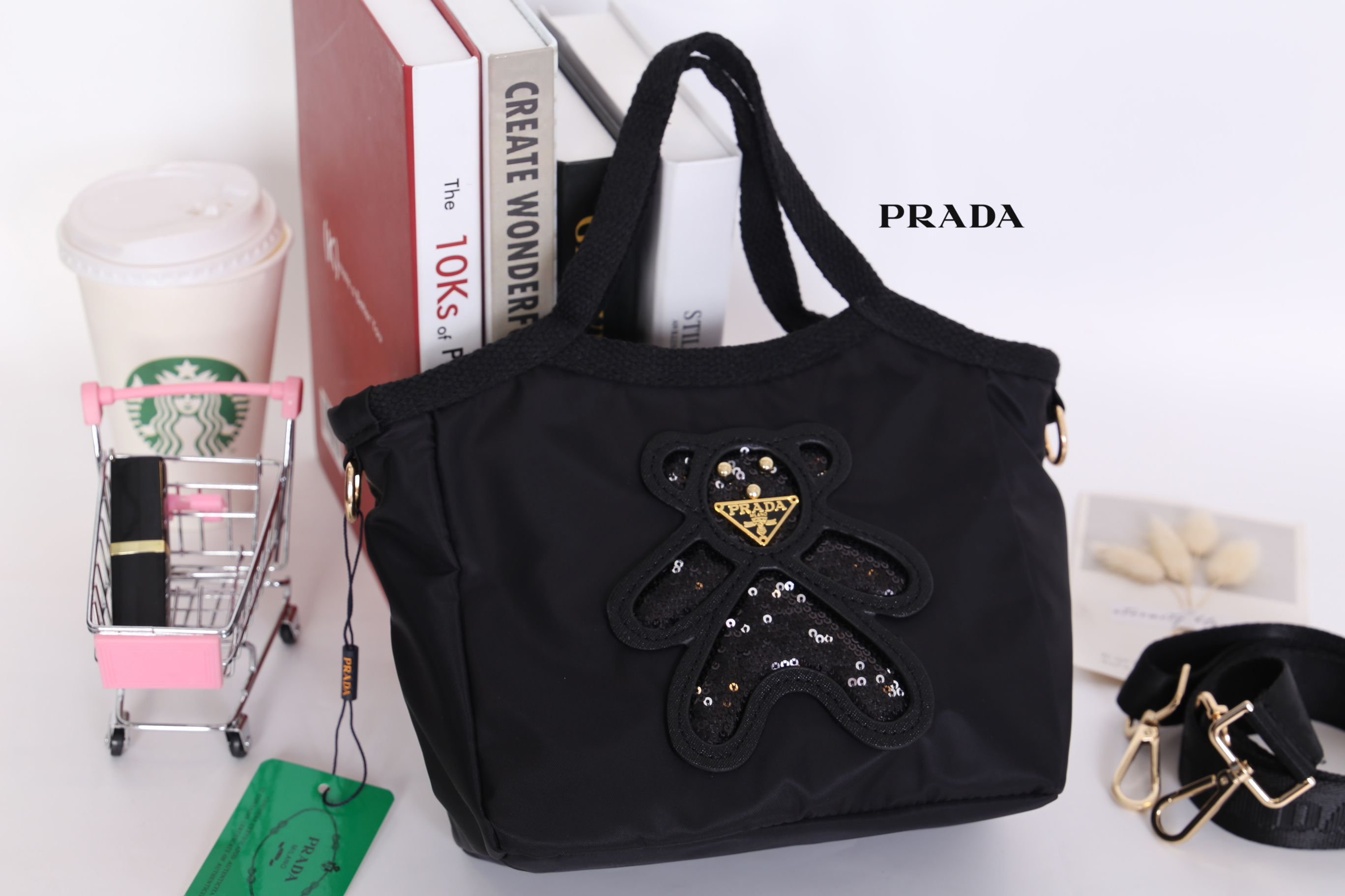 8665ba3d6f3e Prada Nylon Teddy bear bag - make happy office : Inspired by LnwShop.com