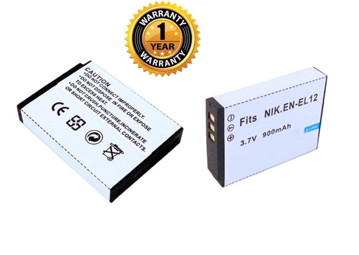 Bateria EN-EL12 para Nikon CoolPix AW100 S620 S800c S610 S640 S1000pj S610c S9100 P310 AW110 S6300 S8100 P330 S6400 S9200 S31 S70 S8000 S630 P300 S710 S6100