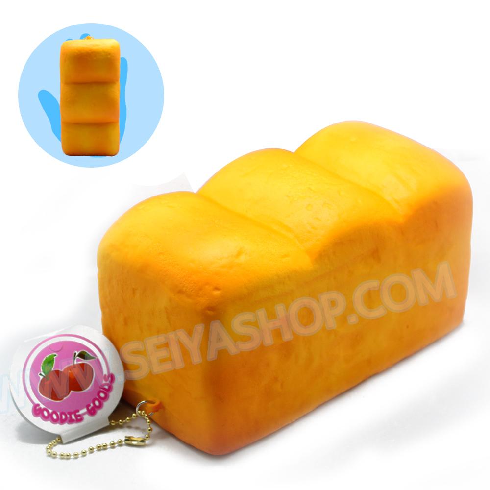 CA829 สกุชชี่ Bread Butter ปังปอนด์ Jumbo (super soft) ขนาด16cm